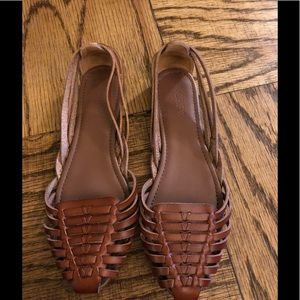 J.Crew (factory) leather huaraches sandals! 6